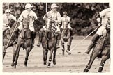 7th Heritage Polo Cup semi-finals: Paul Oberschneider La Golondrina riding along side Timothy Rose La Mariposa.. Hurtwood Park Polo Club, Ewhurst Green, Surrey, United Kingdom, on 04 August 2012 at 15:56, image #303