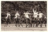 7th Heritage Polo Cup semi-finals: Game on: La Golondrina v La Mariposa.. Hurtwood Park Polo Club, Ewhurst Green, Surrey, United Kingdom, on 04 August 2012 at 16:52, image #337