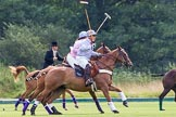 7th Heritage Polo Cup semi-finals: Parke Bradley, Silver Fox USA Polo Team.. Hurtwood Park Polo Club, Ewhurst Green, Surrey, United Kingdom, on 04 August 2012 at 11:04, image #4