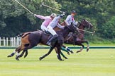 7th Heritage Polo Cup semi-finals: Nico Talamoni, Team Emerging Switzerland, on the offside shot.. Hurtwood Park Polo Club, Ewhurst Green, Surrey, United Kingdom, on 04 August 2012 at 11:06, image #6