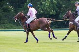 7th Heritage Polo Cup semi-finals: Justo Saveedra, Team Emerging Switzerland.. Hurtwood Park Polo Club, Ewhurst Green, Surrey, United Kingdom, on 04 August 2012 at 11:06, image #7
