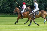 7th Heritage Polo Cup semi-finals: Clare Payne & Henry Fisher, Team Silver Fox USA.. Hurtwood Park Polo Club, Ewhurst Green, Surrey, United Kingdom, on 04 August 2012 at 11:19, image #33