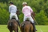 7th Heritage Polo Cup semi-finals: John Martin, Team Silver Fox USA & Nico Talamoni, Team Emerging Switzerland.. Hurtwood Park Polo Club, Ewhurst Green, Surrey, United Kingdom, on 04 August 2012 at 11:24, image #39