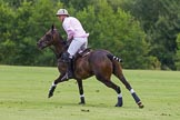 7th Heritage Polo Cup semi-finals: Nico Talamoni, Team Emerging Switzerland, in T.M.Lewin Check Shirt.. Hurtwood Park Polo Club, Ewhurst Green, Surrey, United Kingdom, on 04 August 2012 at 11:24, image #40