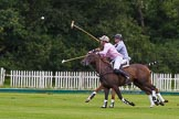 7th Heritage Polo Cup semi-finals: Nico Talamoni, Team Emerging Switzerland & Henry Fisher, Team Silver Fox USA.. Hurtwood Park Polo Club, Ewhurst Green, Surrey, United Kingdom, on 04 August 2012 at 11:29, image #43