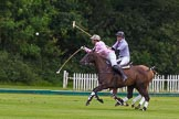7th Heritage Polo Cup semi-finals: Nico Talamoni, Team Emerging Switzerland & Henry Fisher, Team Silver Fox USA.. Hurtwood Park Polo Club, Ewhurst Green, Surrey, United Kingdom, on 04 August 2012 at 11:29, image #44
