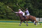 7th Heritage Polo Cup semi-finals: Nico Talamoni, Team Emerging Switzerland & Henry Fisher, Team Silver Fox USA.. Hurtwood Park Polo Club, Ewhurst Green, Surrey, United Kingdom, on 04 August 2012 at 11:29, image #45