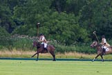 7th Heritage Polo Cup semi-finals: Rosie Ross attacking goal. Ladies of the British Empire, Liberty Freedom.. Hurtwood Park Polo Club, Ewhurst Green, Surrey, United Kingdom, on 04 August 2012 at 13:10, image #97
