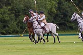 7th Heritage Polo Cup semi-finals: Ride off Charlie Howell v Barbara Patricia Zingg.. Hurtwood Park Polo Club, Ewhurst Green, Surrey, United Kingdom, on 04 August 2012 at 13:10, image #99