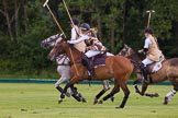 7th Heritage Polo Cup semi-finals: Charlie Howel breaking away.. Hurtwood Park Polo Club, Ewhurst Green, Surrey, United Kingdom, on 04 August 2012 at 13:10, image #101