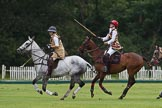 7th Heritage Polo Cup semi-finals: Emma Boers & Sarah Wisman.. Hurtwood Park Polo Club, Ewhurst Green, Surrey, United Kingdom, on 04 August 2012 at 13:11, image #105