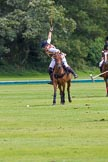 7th Heritage Polo Cup semi-finals: Penalty 4 Rosie Ross in full swing.. Hurtwood Park Polo Club, Ewhurst Green, Surrey, United Kingdom, on 04 August 2012 at 13:30, image #141