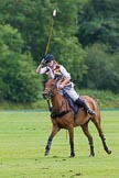 7th Heritage Polo Cup semi-finals: Rosie Ross executing the penalty in favour of the Ladies of the British Empire Polo Team.. Hurtwood Park Polo Club, Ewhurst Green, Surrey, United Kingdom, on 04 August 2012 at 13:33, image #150