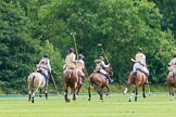 7th Heritage Polo Cup semi-finals: The battle is on.. Hurtwood Park Polo Club, Ewhurst Green, Surrey, United Kingdom, on 04 August 2012 at 13:35, image #162
