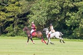 7th Heritage Polo Cup semi-finals: Erin Jones playing against The Amazon of Polo Barbara P Zingg.. Hurtwood Park Polo Club, Ewhurst Green, Surrey, United Kingdom, on 04 August 2012 at 13:49, image #175