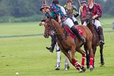 7th Heritage Polo Cup semi-finals: AMG PETROENERGY Polo Player Annabel McNaught-Davis changing direction to the game with a backshot open.. Hurtwood Park Polo Club, Ewhurst Green, Surrey, United Kingdom, on 04 August 2012 at 14:05, image #198