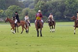 7th Heritage Polo Cup semi-finals: Waiting to start play.. Hurtwood Park Polo Club, Ewhurst Green, Surrey, United Kingdom, on 04 August 2012 at 14:10, image #201