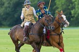 7th Heritage Polo Cup semi-finals: Emma Boers & Uneku Atawodi from Nigeria.. Hurtwood Park Polo Club, Ewhurst Green, Surrey, United Kingdom, on 04 August 2012 at 14:10, image #204