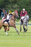 7th Heritage Polo Cup semi-finals: AMG PETROENERGY Sophie Kyriazi playing a nearside.. Hurtwood Park Polo Club, Ewhurst Green, Surrey, United Kingdom, on 04 August 2012 at 14:25, image #220