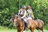 7th Heritage Polo Cup semi-finals: Charlie Howel of the Ladies of the British Empire Liberty Freedom.. Hurtwood Park Polo Club, Ewhurst Green, Surrey, United Kingdom, on 04 August 2012 at 14:45, image #224