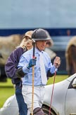 7th Heritage Polo Cup semi-finals: Sebastin Funes getting ready for play.. Hurtwood Park Polo Club, Ewhurst Green, Surrey, United Kingdom, on 04 August 2012 at 15:23, image #229