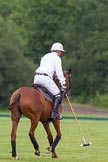 7th Heritage Polo Cup semi-finals: La Golondrina Argentina Polo Patron Paul Oberschneider in T.M.Lewin LuxuryWhite Twill Shirt.. Hurtwood Park Polo Club, Ewhurst Green, Surrey, United Kingdom, on 04 August 2012 at 15:25, image #233