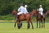 7th Heritage Polo Cup semi-finals: Pepe Riglos La Golondrina Argentina in the background.. Hurtwood Park Polo Club, Ewhurst Green, Surrey, United Kingdom, on 04 August 2012 at 15:35, image #255
