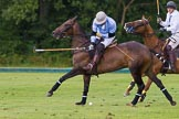 7th Heritage Polo Cup semi-finals: La Mariposa Argentina - Mariano striking a nearside back.. Hurtwood Park Polo Club, Ewhurst Green, Surrey, United Kingdom, on 04 August 2012 at 15:44, image #269