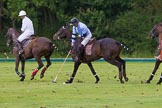 7th Heritage Polo Cup semi-finals: La Mariposa Argentina Sebastian Funes on the nearside.. Hurtwood Park Polo Club, Ewhurst Green, Surrey, United Kingdom, on 04 August 2012 at 15:44, image #270
