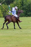 7th Heritage Polo Cup semi-finals: Mariano Darritchon with a back stroke.. Hurtwood Park Polo Club, Ewhurst Green, Surrey, United Kingdom, on 04 August 2012 at 15:55, image #301
