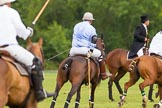 7th Heritage Polo Cup semi-finals: La Mariposa Argentina Mariano Darritchon riding back.. Hurtwood Park Polo Club, Ewhurst Green, Surrey, United Kingdom, on 04 August 2012 at 16:01, image #308