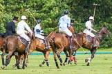 7th Heritage Polo Cup semi-finals: Back to centre.. Hurtwood Park Polo Club, Ewhurst Green, Surrey, United Kingdom, on 04 August 2012 at 16:13, image #316