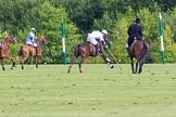 7th Heritage Polo Cup semi-finals: La Golondrina Argentina Pepe Riglos (6) ARG going towards goal.. Hurtwood Park Polo Club, Ewhurst Green, Surrey, United Kingdom, on 04 August 2012 at 16:16, image #322