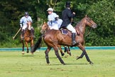 7th Heritage Polo Cup semi-finals: Umpire Gaston Devrient.. Hurtwood Park Polo Club, Ewhurst Green, Surrey, United Kingdom, on 04 August 2012 at 16:50, image #332