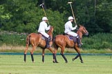 7th Heritage Polo Cup semi-finals: La Golondrina Polo Team Paul Oberschneider & Pedro Harrison.. Hurtwood Park Polo Club, Ewhurst Green, Surrey, United Kingdom, on 04 August 2012 at 16:51, image #334