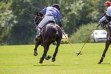 7th Heritage Polo Cup finals: John Martin, left, and Sebastian Funes.. Hurtwood Park Polo Club, Ewhurst Green, Surrey, United Kingdom, on 05 August 2012 at 13:18, image #13