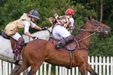 7th Heritage Polo Cup finals: Emma Boers to hook Sarah Wisman.. Hurtwood Park Polo Club, Ewhurst Green, Surrey, United Kingdom, on 05 August 2012 at 15:16, image #142