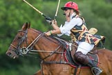 7th Heritage Polo Cup finals: Sarah Wisman.. Hurtwood Park Polo Club, Ewhurst Green, Surrey, United Kingdom, on 05 August 2012 at 15:17, image #147