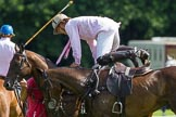 7th Heritage Polo Cup finals: Nico Talamoni changing ponies.. Hurtwood Park Polo Club, Ewhurst Green, Surrey, United Kingdom, on 05 August 2012 at 15:38, image #184