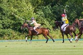 7th Heritage Polo Cup finals: Emma Boers crossing the line.. Hurtwood Park Polo Club, Ewhurst Green, Surrey, United Kingdom, on 05 August 2012 at 16:02, image #204