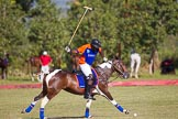 African Patrons Cup 2012 (Friday): Match Access Bank Fifth Chukker v Keffi Ponies: Adamu Atta playing the ball towards the goal.. Fifth Chukker Polo & Country Club, Kaduna, Kaduna State, Nigeria, on 02 November 2012 at 15:38, image #20