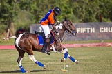 African Patrons Cup 2012 (Friday): Match Access Bank Fifth Chukker v Keffi Ponies: Adamu Atta playing the ball towards the goal.. Fifth Chukker Polo & Country Club, Kaduna, Kaduna State, Nigeria, on 02 November 2012 at 15:38, image #21