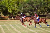 African Patrons Cup 2012 (Friday): Match Access Bank Fifth Chukker v Keffi Ponies: Ibrahim 'Rambo' Mohammed chased by  Pedro Fernandez Llorente.. Fifth Chukker Polo & Country Club, Kaduna, Kaduna State, Nigeria, on 02 November 2012 at 15:42, image #40