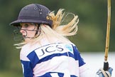 DBPC Polo in the Park 2012: Close-up of JCS Polo team #3, Emma Nicolson.. Dallas Burston Polo Club, Stoneythorpe Estate, Southam, Warwickshire, United Kingdom, on 16 September 2012 at 11:02, image #66