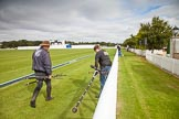 DBPC Polo in the Park 2012: The Knights of Middle England - preparations for the Jousting display.. Dallas Burston Polo Club, Stoneythorpe Estate, Southam, Warwickshire, United Kingdom, on 16 September 2012 at 11:30, image #92