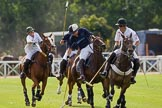 DBPC Polo in the Park 2012: Dawson Group Polo Team #2, Josh Cork, Quicksilver #3, Philip Baker, #2, Ed Batchelor, and Dawson Group #3, Michael Henderson.. Dallas Burston Polo Club, Stoneythorpe Estate, Southam, Warwickshire, United Kingdom, on 16 September 2012 at 13:39, image #153