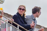 DBPC Polo in the Park 2012: Guest of Honour HRH Princess Katarina of Yugoslavia, watching the  Polo from the balcony of the Royal Box.. Dallas Burston Polo Club, Stoneythorpe Estate, Southam, Warwickshire, United Kingdom, on 16 September 2012 at 13:43, image #156