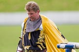 DBPC Polo in the Park 2012: The Knights of Middle England - preparations for the Jousting display.. Dallas Burston Polo Club, Stoneythorpe Estate, Southam, Warwickshire, United Kingdom, on 16 September 2012 at 13:44, image #157