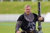 DBPC Polo in the Park 2012: The Knights of Middle England - preparations for the Jousting display.. Dallas Burston Polo Club, Stoneythorpe Estate, Southam, Warwickshire, United Kingdom, on 16 September 2012 at 13:47, image #162
