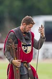DBPC Polo in the Park 2012: The Knights of Middle England - preparations for the Jousting display.. Dallas Burston Polo Club, Stoneythorpe Estate, Southam, Warwickshire, United Kingdom, on 16 September 2012 at 13:48, image #163